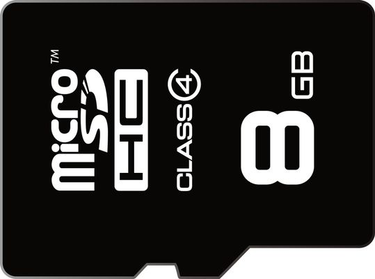 Emtec memory card micro SDHC 8GB,class 4 ,|15MB/s 6MB/s|+ adapter