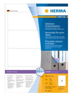 Etikett HERMA Special Movables A4 192x61  100