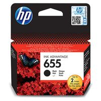 HP INK CARTRIDGE 655 BLACK IN (CZ109AE#BHK)