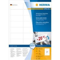 Etikett HERMA Movable 63, 5x29, 6mm (2700)