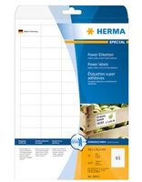 Etikett HERMA Power A4 38,1x21,1  25