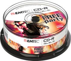 Disc CD-R [ cake box 25 | 700MB | 52x ]