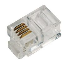 Modular Plug for flat cables, RJ10 4P4C