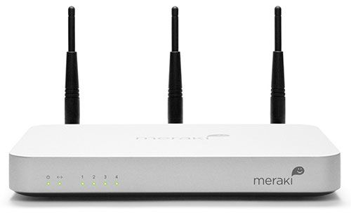 MERAKI MX60W SECURITY APPLIANCE WITH 802.11N CLOUD MANAGED EN
