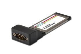 R 232 EXPRESS CARD 1-PORT, EXPRESSCARD ADD-ON-KARTE IN CTLR