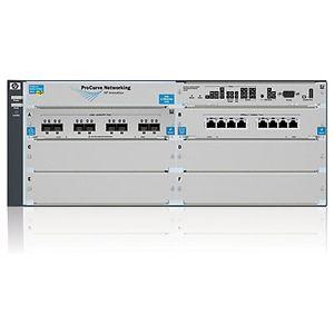 Hewlett Packard Enterprise 5406 8p 10GBASE-T 8p 10GbE SFP+ v2 zl Switch with Premium Software (J9866A#ABB)