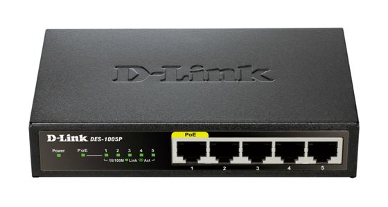 5-Port Fast Ethernet PoE Desktop