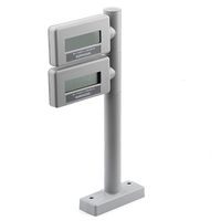 KIT REMOTE SCALE DISPLAY METRIC DUAL HEAD  20 CM/8 IN POST