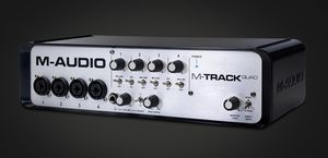 M-AUDIO M-TRACK QUAD (328484)