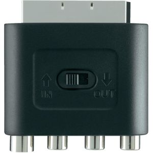 BELKIN Adapter SCART M/S-video Black (F3Y052BF)