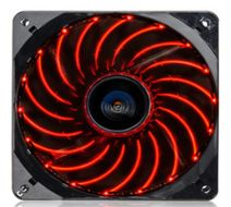 T.B.VEGAS SINGLE FAN 120MM RED ML CPNT
