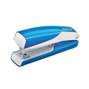 LEITZ Stapler Mini WOW 10sheets blue (55281036)