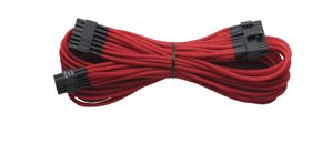 CORSAIR Individually Sleeved Cable Red 1200i/ 860i/ 760i AX(I) Platinum Series, 1x 20+4 pin ATX MB (610mm) (CP-8920057)