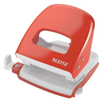 PUNCHER LEITZ NEXXT METAL 3MM LIGHT RED