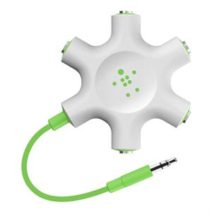 BELKIN Rockstar Headphone Splitter Green