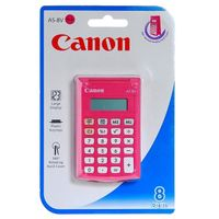 AS-8V pocket calculator pink