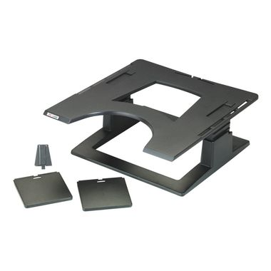 LX500 NOTEBOOK RISER HEIGHT ADJUSTABLE 32 X 32 X 10, 2-15, 2CM IN ACCS