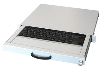 AIXCASE Keyboard - rack-mountable - DE (AIX-19K1UKDETP-W)