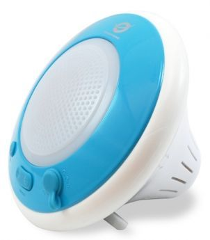 Wireless waterproof floating speaker light blue