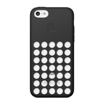 Apple Case iPhone 5C, Black Deksel til iPhone 5C