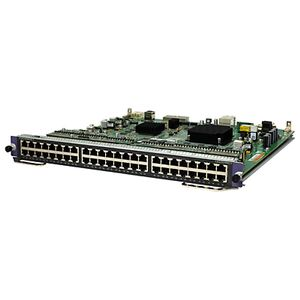 Hewlett Packard Enterprise 7500 48-port 1000BASE-T PoE+ SC Module (JG663A)