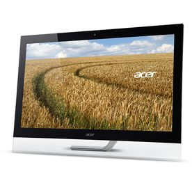 "ACER 27"" LED T272HLbmidz 1920x1080,  5ms, 100M:1, 10-point touch, VGA/ DVI/ HDMI (UM.HT2EE.005)"