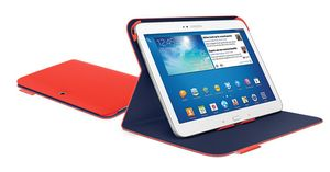 "LOGITECH Keyboard Folio for Samsung Tab 3 10"""" (Mars Red Orange) (939-000733)"