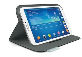 "Keyboard Folio for Samsung Tab 3 8"""" (Carbon Black)"