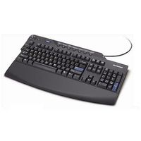 PERFORMANCE USB KEYBOARD 2 PORT USB STEALTH BLACK SS