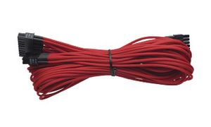 Individually Sleeved Cable Red 860/ 760 AX  Platinum Series, 1x 20+4 pin ATX MB (610mm)