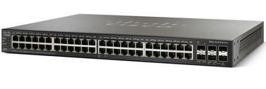 Cisco SMB 48-Port Gig POE with 4-Port 10-Gig Stackable Managed Switch Factory Sealed