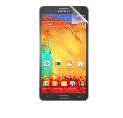 Transparent Screen Overlay Galaxy Note 3