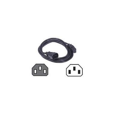 Rack Power Cord 0.6M/2Ft C13 to C14