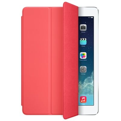 iPad Air Smart Cover Rosa Polyuretandeksel