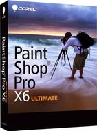 PAINTSHOP PRO X6 ULTIMATE MINI-BOX                         EN LICS