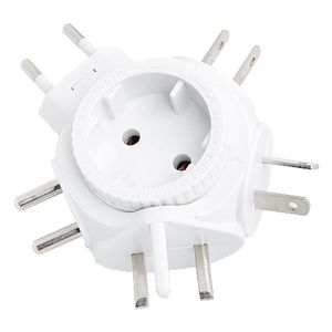 2direct Logilink travel Adapter for Euro Plug (PA0054)