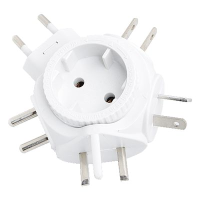 - Travel Adapter for Euro Plug