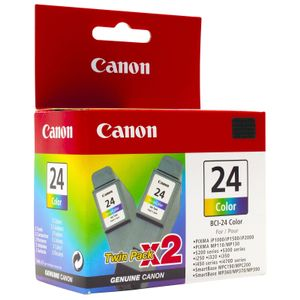 CANON 2x BCI-24c TP Ink color TWINPack (6882A009)
