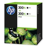 INK CARTRIDGE HP 300XL TWIN PACK BLACK                  IN SUPL