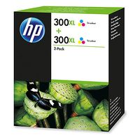 300XL 2-pack High Yield Tri-color Original Ink Cartridges