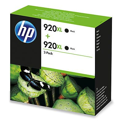 INK CARTRIDGE 920XL TWIN PACK BLACK                  IN SUPL