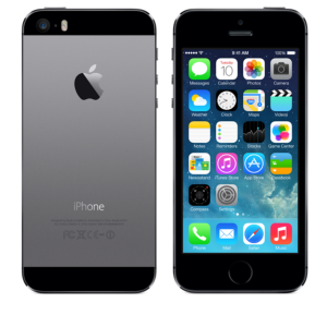 APPLE iPhone 5S 32GB Unlocked - Mobiltelefon - Stellargrå (ME435KN/A)