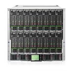 Hewlett Packard Enterprise BLc7000 Platinum Enclosure with 1 Phase 6 Pwr Supplies 10 Fans ROHS 16 OV Lic (763850-B21)