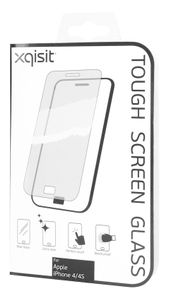 XQISIT Tough Screen Glass for iPhone 5 Skjermglass,  0,4 mm (14487)