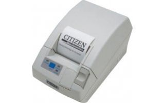 CITIZEN CT-S281, Serial, Incl. external PS, White (CTS281RSEWH)
