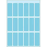 HERMA Labels Herma vario 12x34mm blue 10x90pack (3653*10)