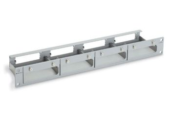 Allied Telesis Wall mountable and Rackmountable Tray for 4 Units of Media Converter (AT-TRAY4)