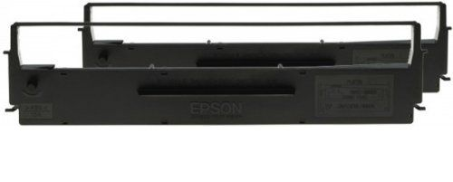 SIDM BLACK RIBBON CARTRIDGE F/ LX-300/ +/ II,  DUALPACK         IN SUPL