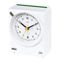 BNC 004 white Voice Activated Alarm Clock