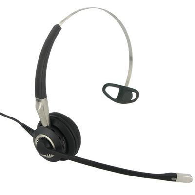 BIZ 2400 HEADPHONE WIRED MONAURAL 3-IN-1 SET ACCS